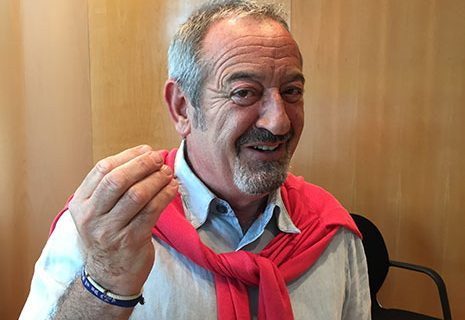 Karlos Arguiñano: «A la gente le avisaría que esté atenta a quién vota»