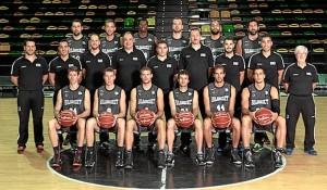 Equipo de baloncesto Bilbao Basket.