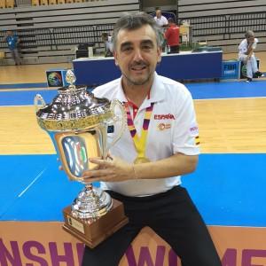 Mario López campeón del europeo U18F.