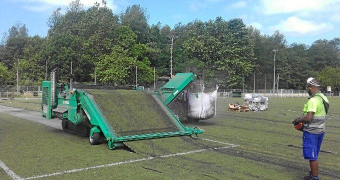 Larrea contará con su primer campo de rugby gracias a la renovación del campo de fútbol del municipio
