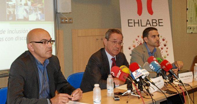Aumenta un 7% el empleo de las personas con discapacidad en las entidades de EHLABE