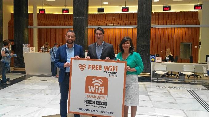 Euskadi, pionera en ofrecer wifi gratis a sus visitantes desde este verano