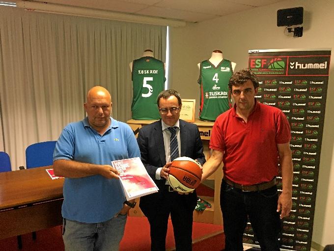 La Selección de Euskadi Masculina de Baloncesto se enfrentará a Venezuela