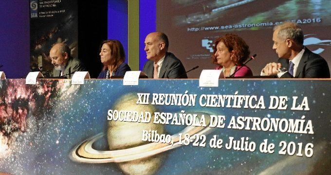 Prosigue la XII Reunión Científica de la Sociedad Española de Astronomía en la capital