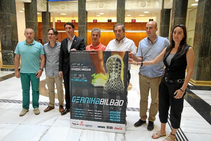 Primera edición de la 'Gernika-Bilbao Running'