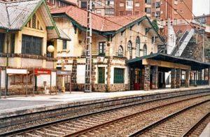 Estación tren Basauri.