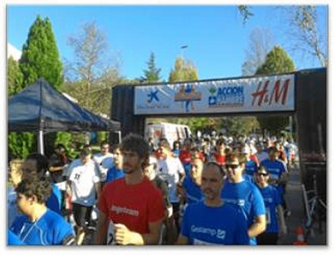 Acción contra el Hambre organiza el 6 de noviembre en Zamudiouna una carrera benéfica entre empresas
