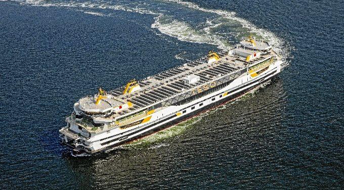 La Naval de Sestao entrega el Ferry 'Texelstroom' a una compañía holandesa