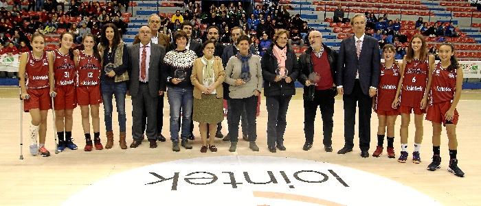 Jornada de Homenajes, Reivindicaciones y de agradecimientos al baloncesto Bizkaino