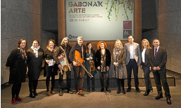 Azkuna zentroa celebra la VI edición de Gabonak arte, un programa lúdico y educativo para todos los públicos