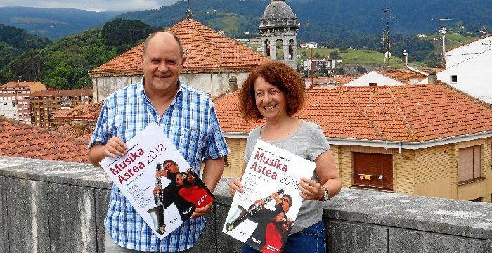 Bermeo acoge la XXXIII Semana Internacional de Música con una nutrida presencia de artistas vascos