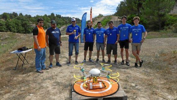 Deusto Drone Team gana el concurso Barcelona Smart Drone Challenge