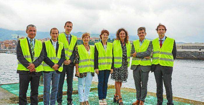 El barrio de Armintza en Lemoiz inaugura el primer laboratorio flotante de Europa