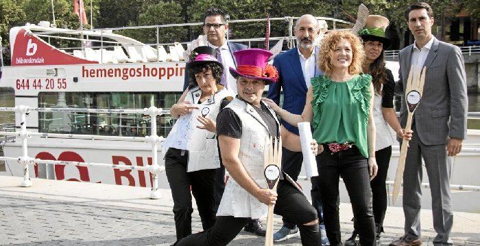 Comienzan las rutas guiadas 'HemenGo Shopping' por el comercio local de Bilbao