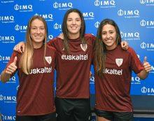 Las jugadoras del Athletic pasan su primer reconocimiento médico de la temporada