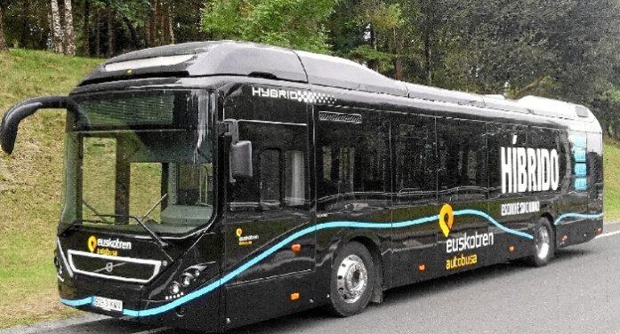 Echa a rodar el autobús híbrido de la ruta Zamudio – Parque Tecnológico