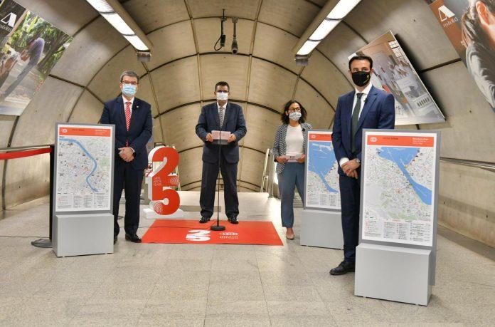 El Metro Bilbao estrena nuevos mapas de distrito