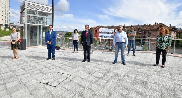 Bilbao ya disfruta de un remodelado barrio de Basurto