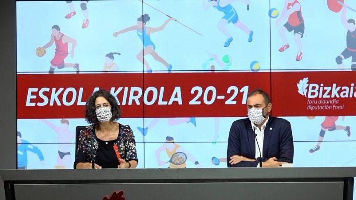 Inicio del programa deportivo Eskola Kirola 2020-2021