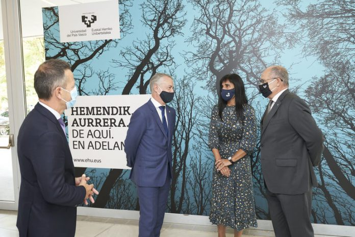El Lehendakari abre el curso 2020-2021 de la Universidad del País Vasco