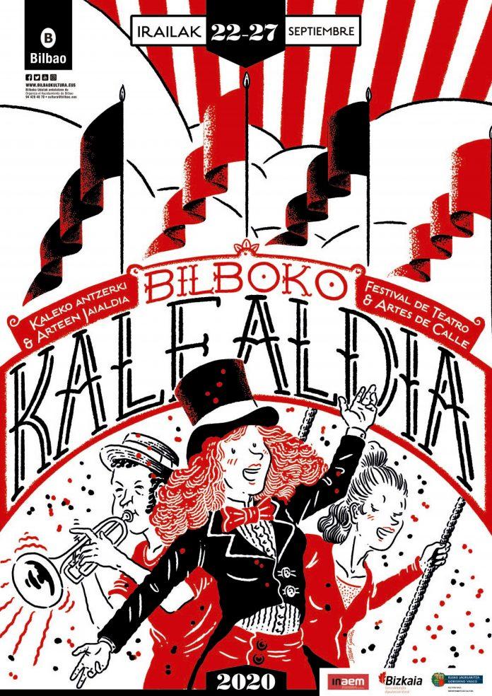 70 actuaciones en la calle conforman el XXI Bilboko Kalealdia